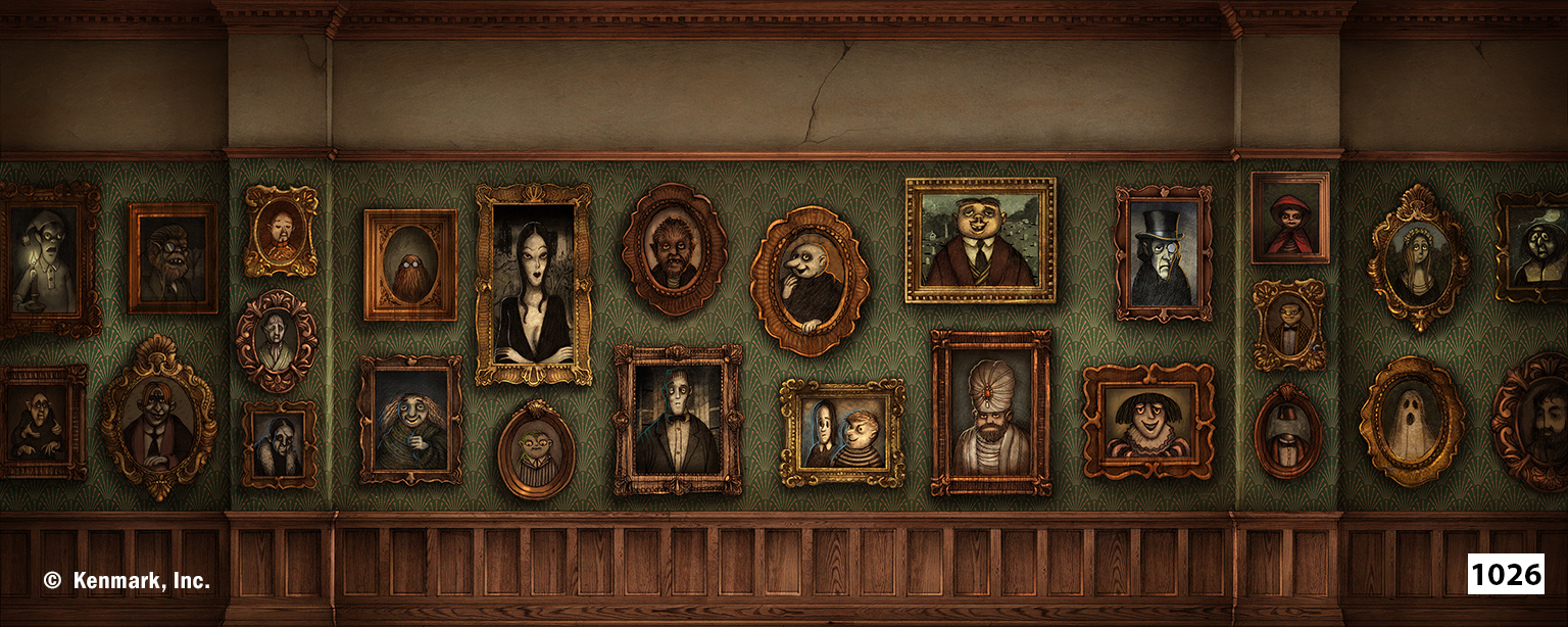 1979 Addams Family Portrait Gallery