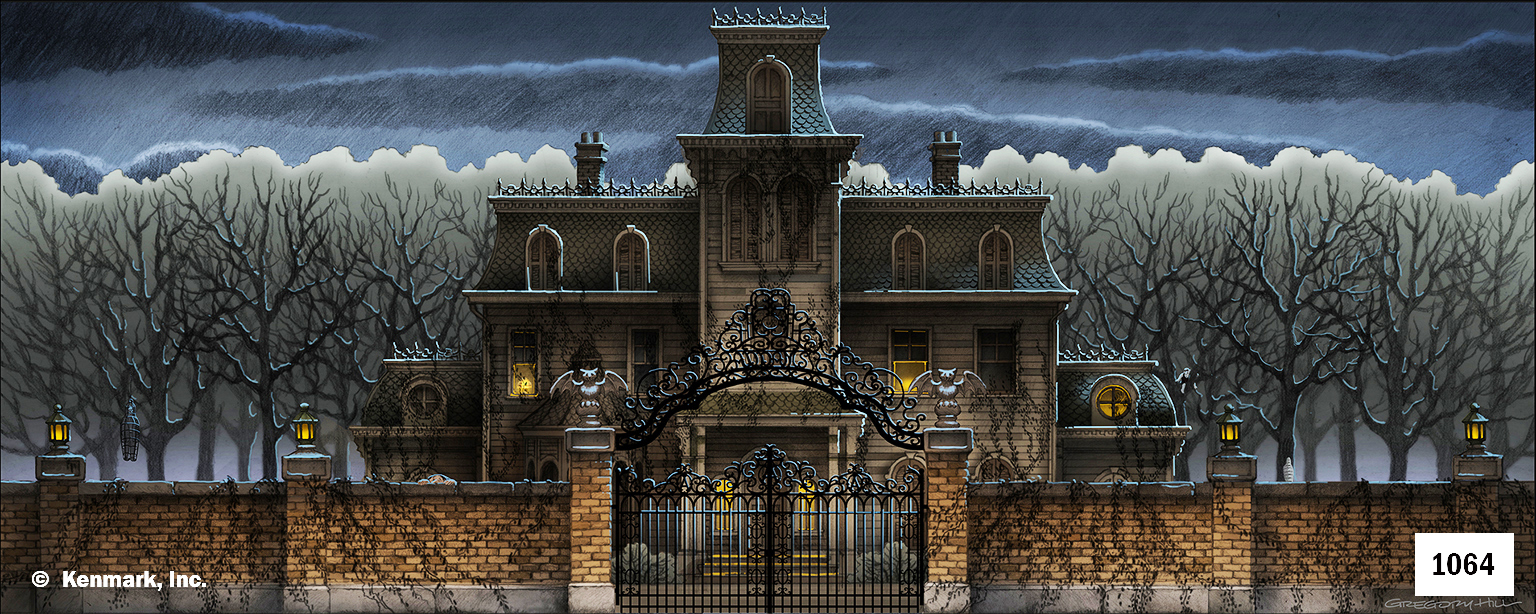 1943 Addams Family House