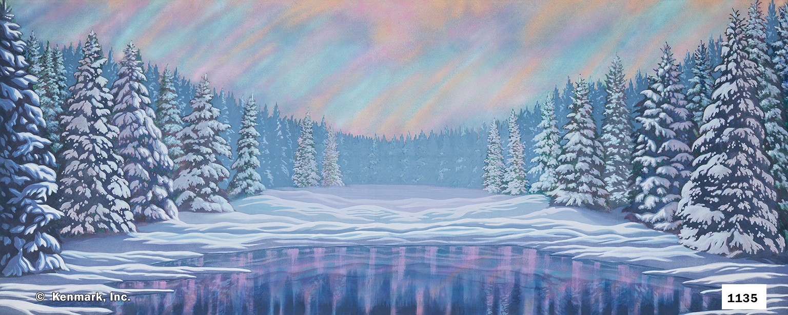 2061 Snow Forest with Pond