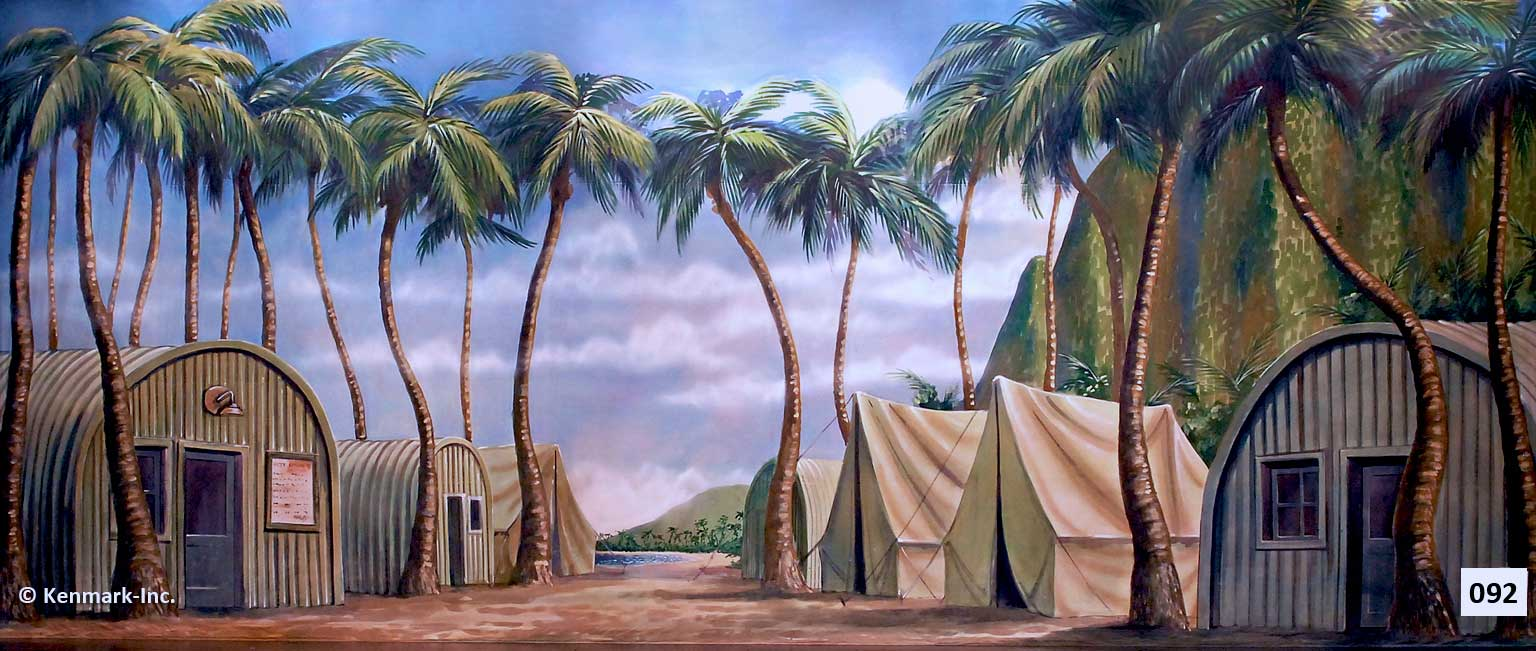 133 Quonset Hut and Tent Barracks