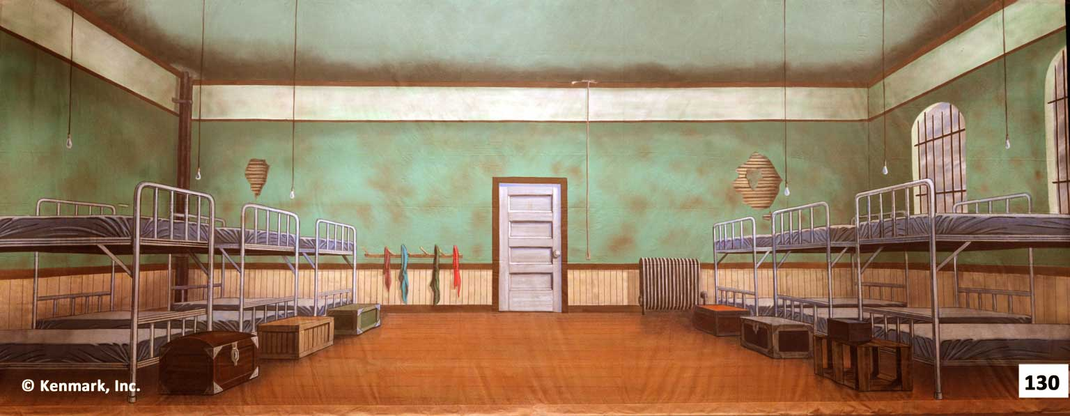 D130 Orphanage With Beds