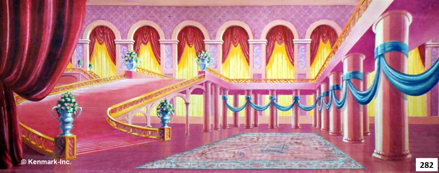 24 Fairytale Ballroom with Stairs
