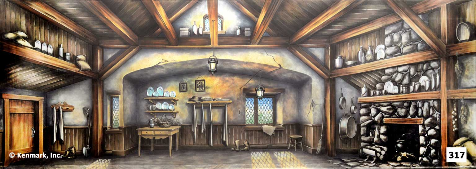 341 Cottage Interior