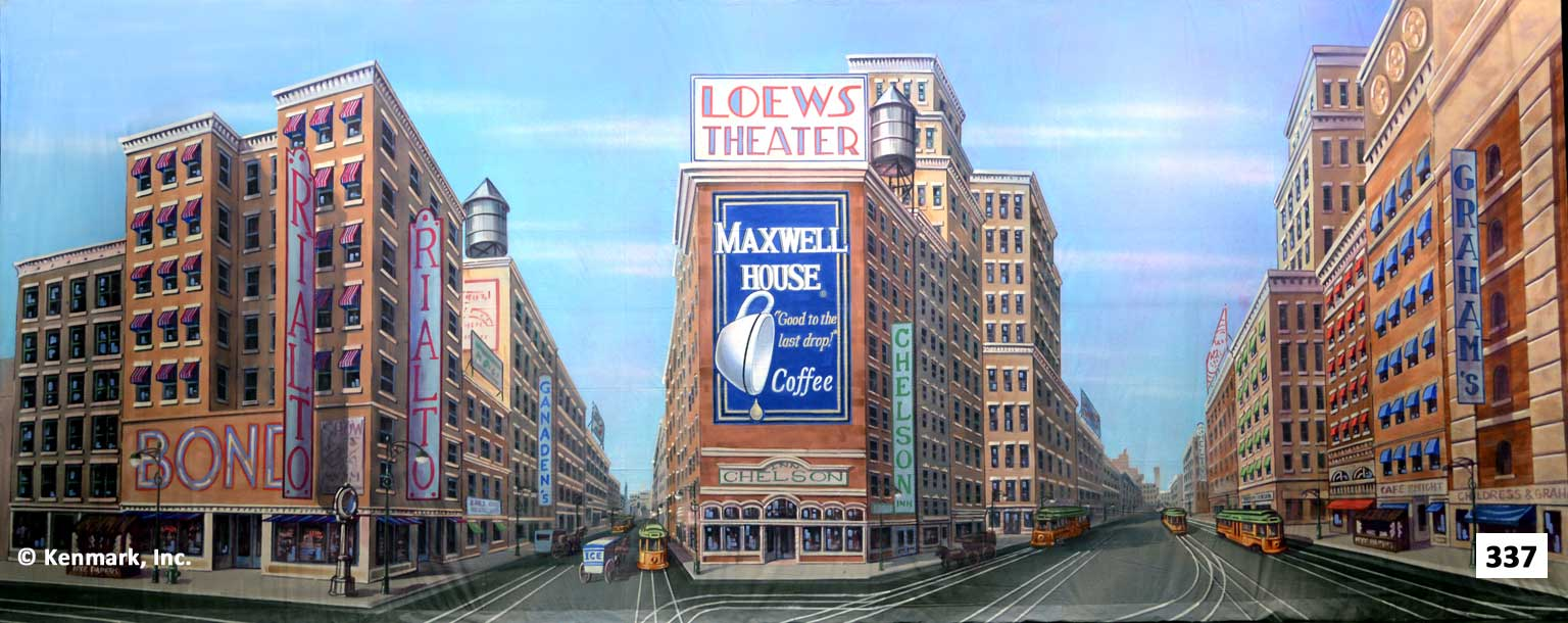 358 Times Square Maxwell House Billboard