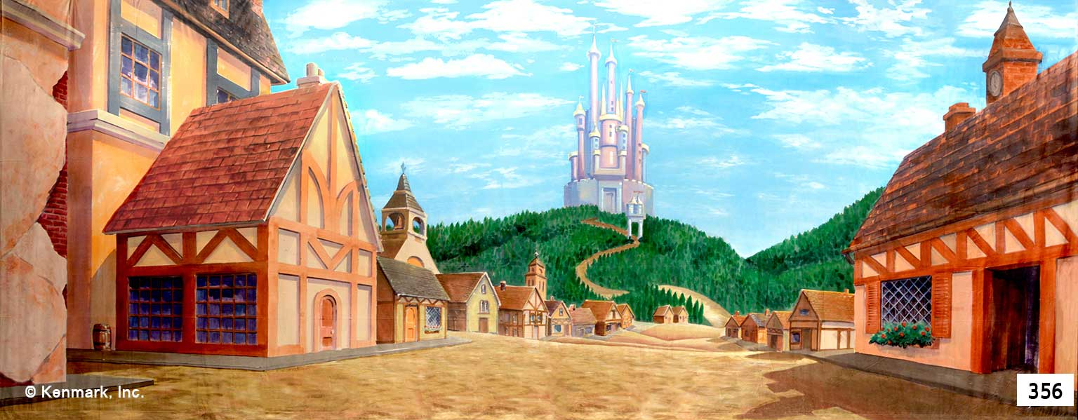 1551 Fairy Tale Village with Castle