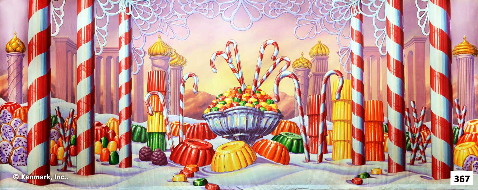 385 Kingdom of Sweets Candy Bowl