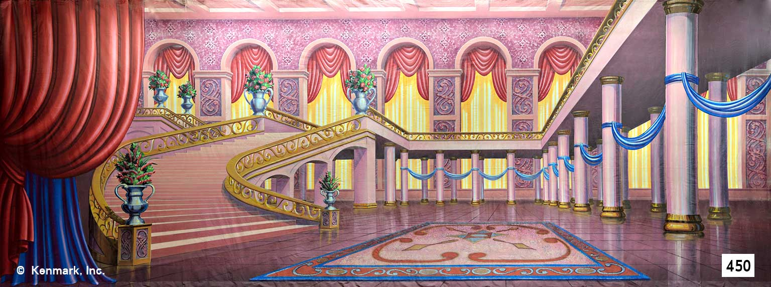 29 Fairytale Ballroom with Stairs