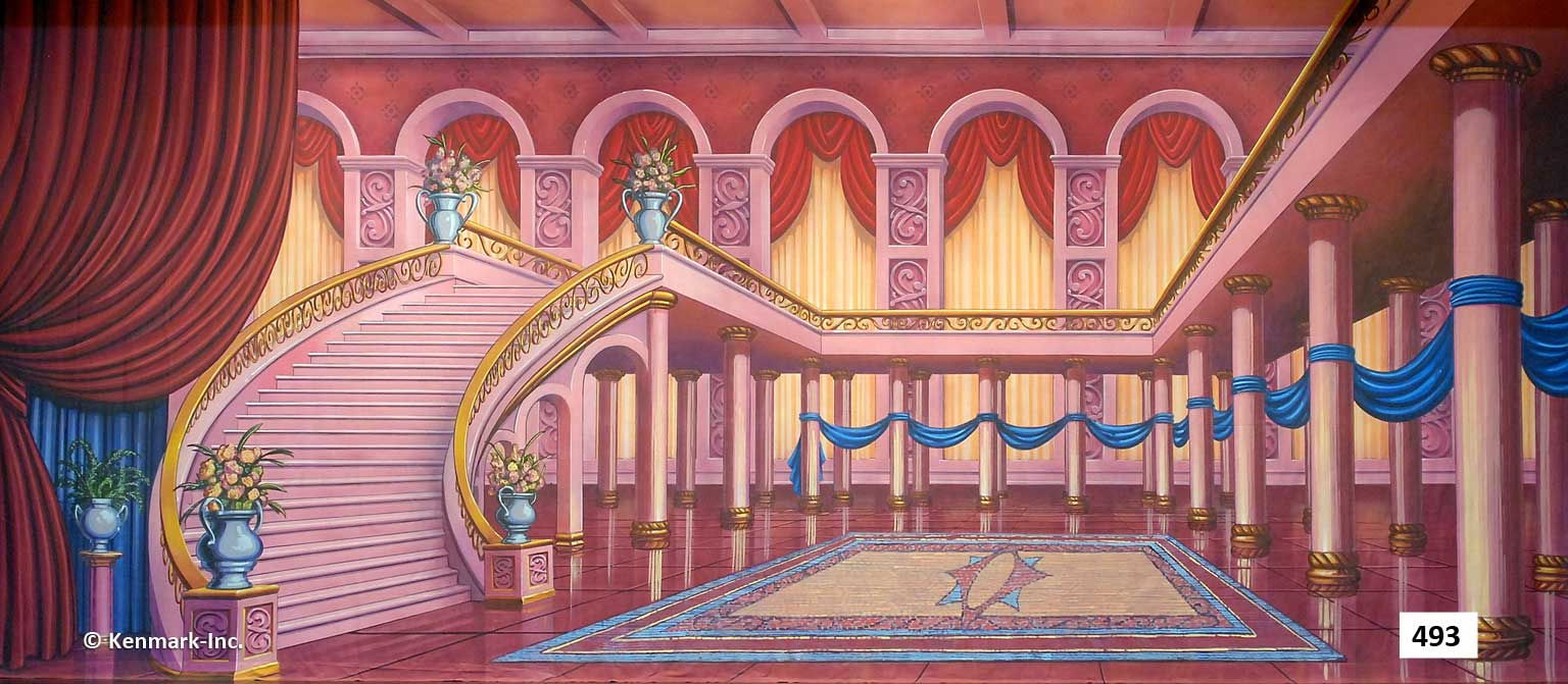 30 Fairytale Ballroom with Stairs