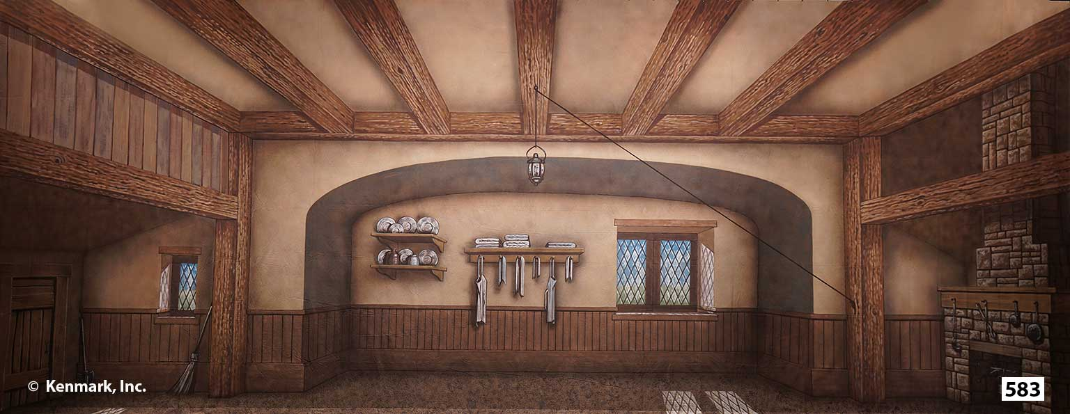 1560 Cottage Interior