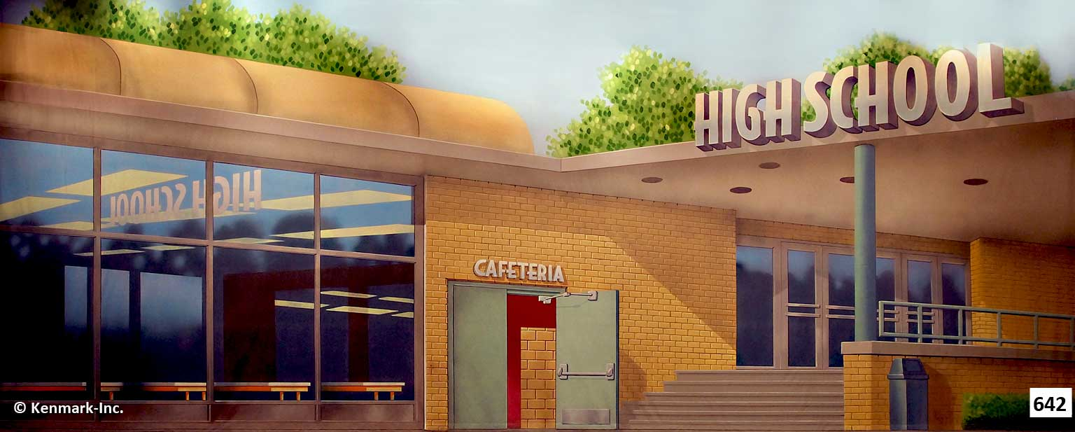 ED642 High School Cafeteria