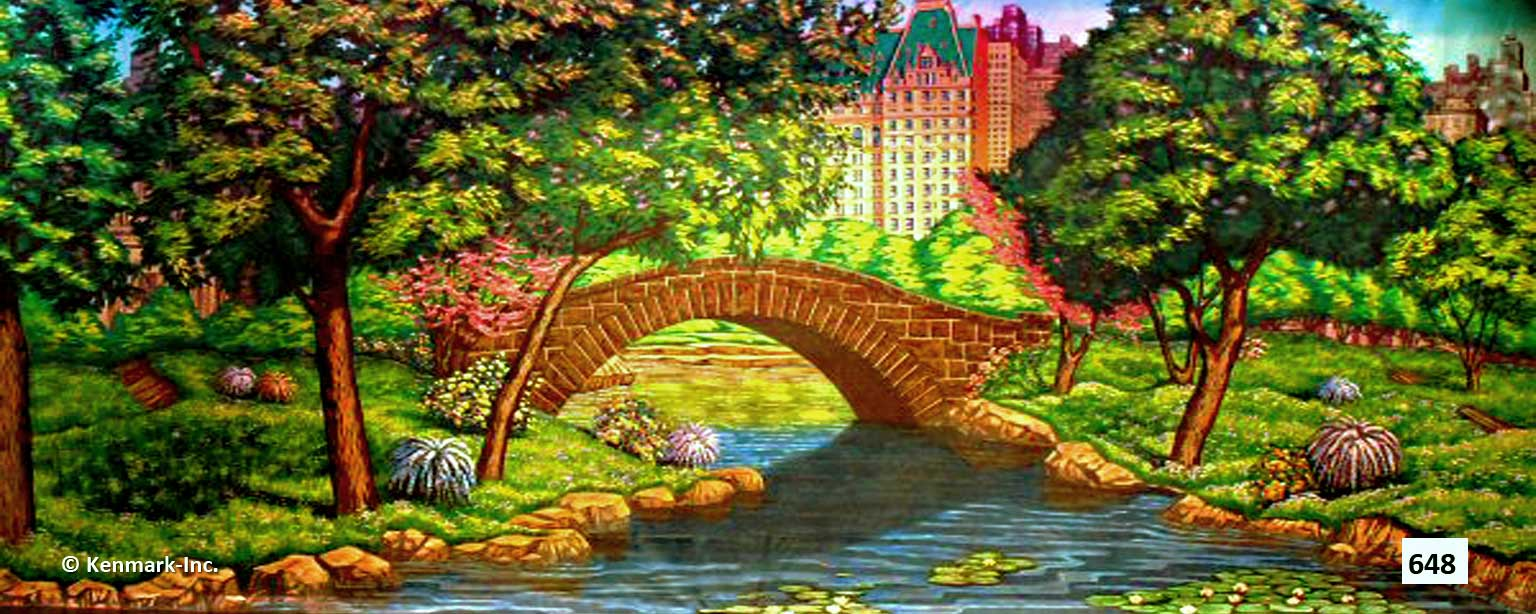 D648 Park With Bridge