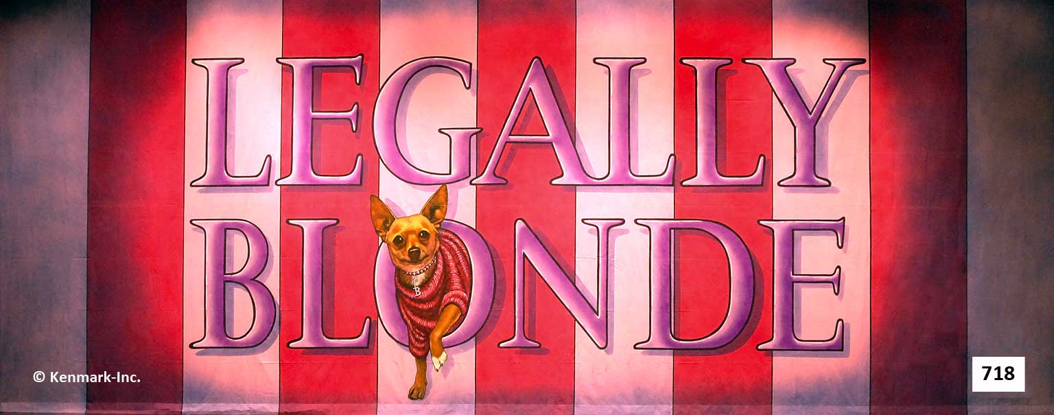 ED718 Legally Blonde Act Curtain